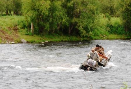 Переправа через реку Быстрая